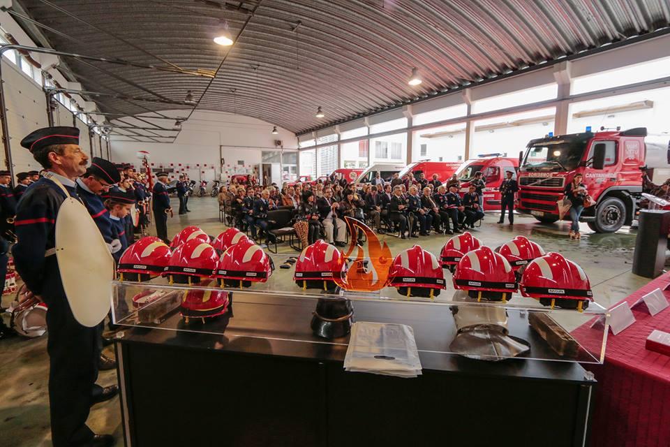 Bombeiros de Cantanhede assinalaram 113 anos em constante crescimento