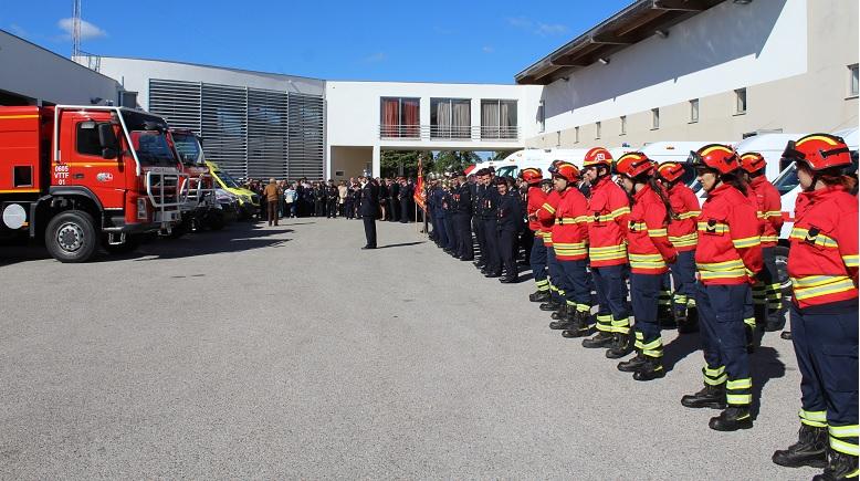 Bombeiros de Cantanhede ganham novas viaturas em dia de aniversário