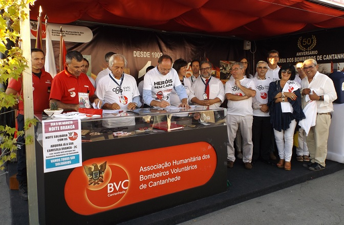 ver notícia Autarquia atribui subsídio de 90 mil euros aos Bombeiros de Cantanhede