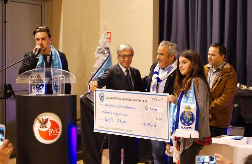 FC Porto solidário com Bombeiros de Cantanhede