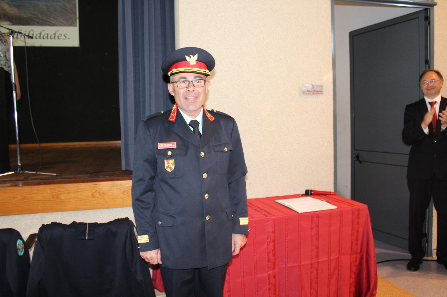 José Oliveira tomou posse como Comandante dos Bombeiros de Cantanhede