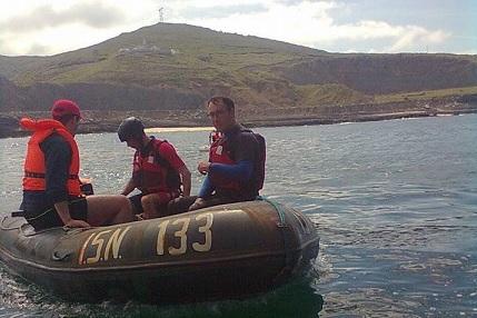 Bombeiros de Cantanhede participaram em Treino Operacional com Embarcações de Socorro