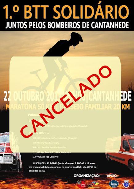 !.º BTT Solidário foi cancelado
