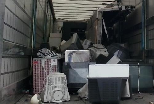 19,5 toneladas de resíduos recolhidas em três meses