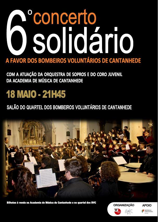 ver notícia 6.º Concerto Solidário