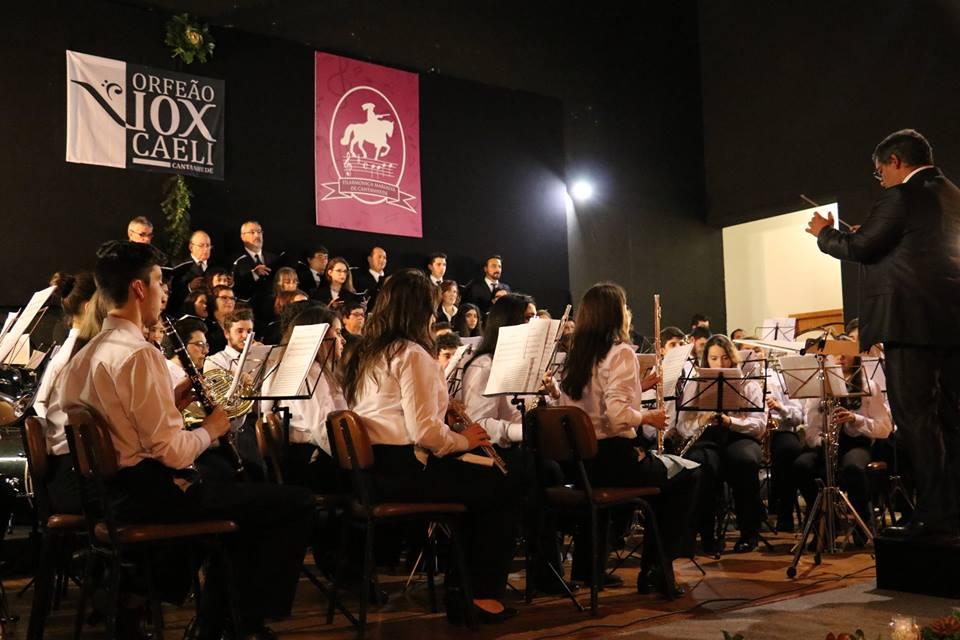 Concerto de Natal encheu salão dos BVC