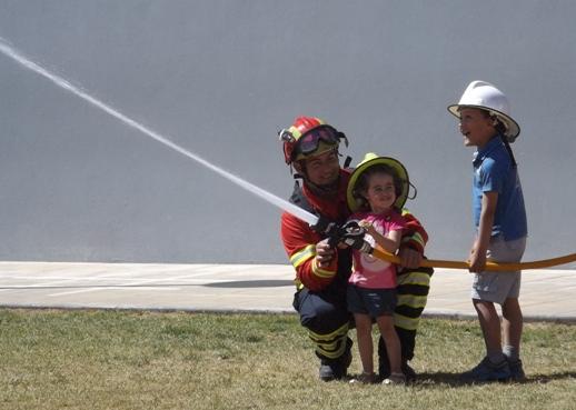 Crianças de Ançã brincaram aos bombeiros