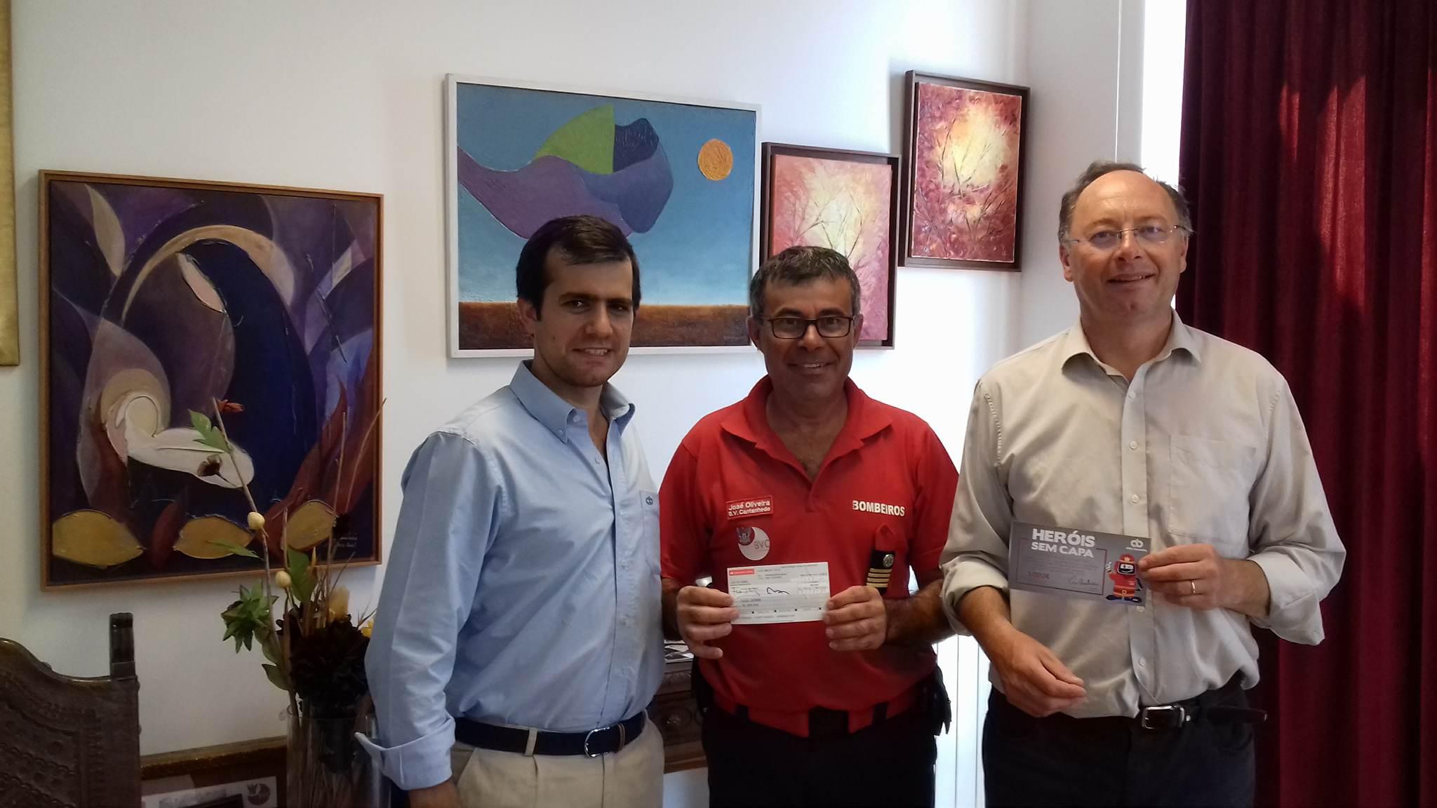 Alves Bandeira entregou 1.020,00€ à AHBVCantanhede