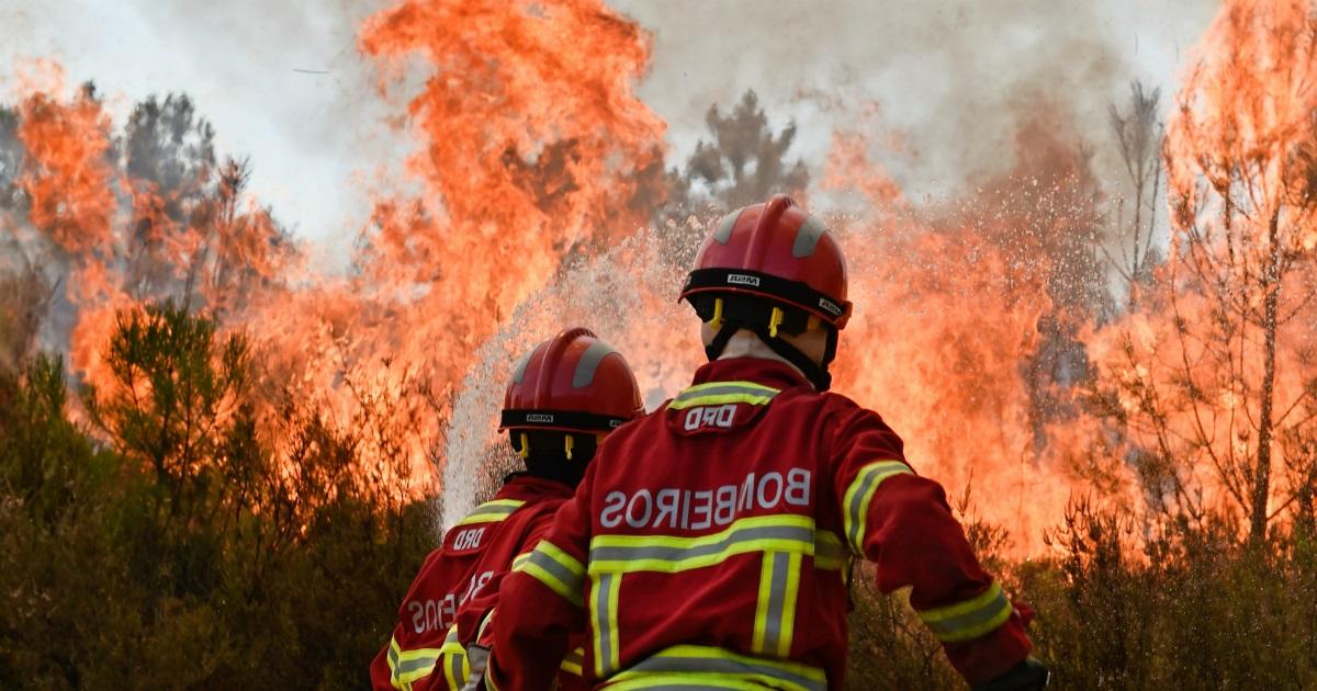 Dois incêndios marcaram esta quarta feira em Cantanhede
