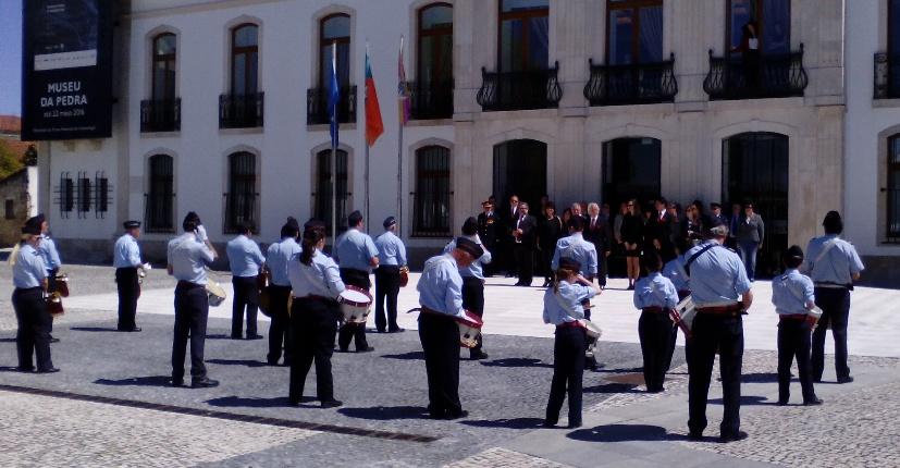 Fanfarra dos BVC abriu comemorações do 25 de Abril