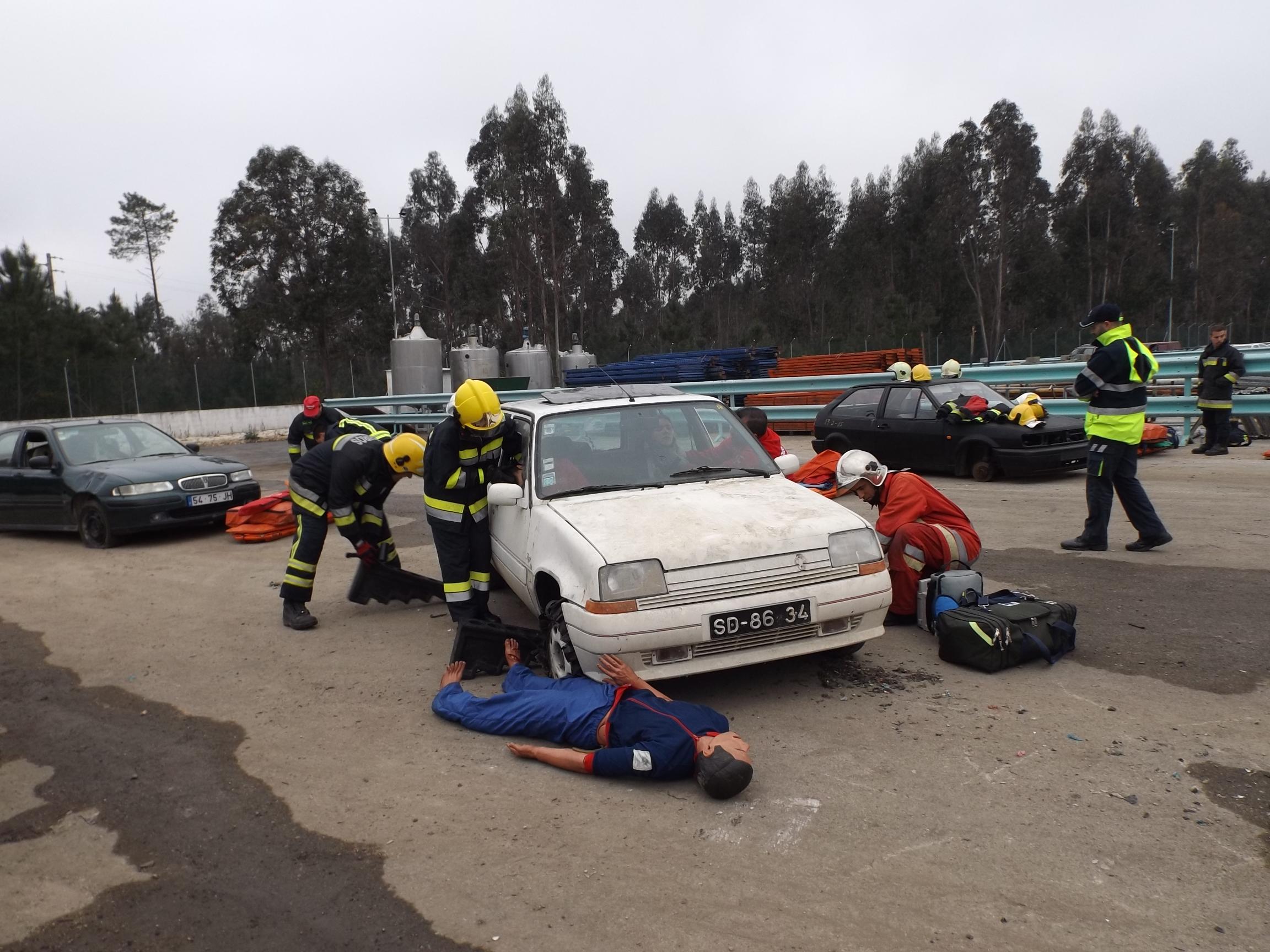 INEM realizou exercícios para formação de TAS em Cantanhede