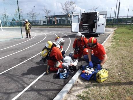 Rebentamento de explosivo na EB 2,3 Marquês de Marialva causou um ferido