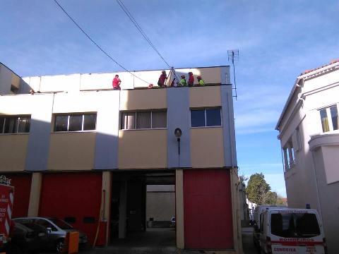 Equipa de Salvamento em Grande Ângulo participou em exercício em Condeixa