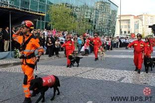 Corporação de Cantanhede participou em desfile da Liga