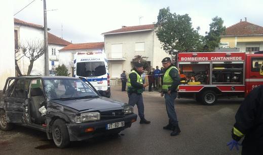 Acidente na Pocariça resultou num morto e três feridos