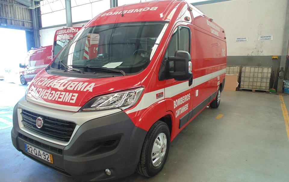 Bombeiros de Cantanhede têm nova ambulância