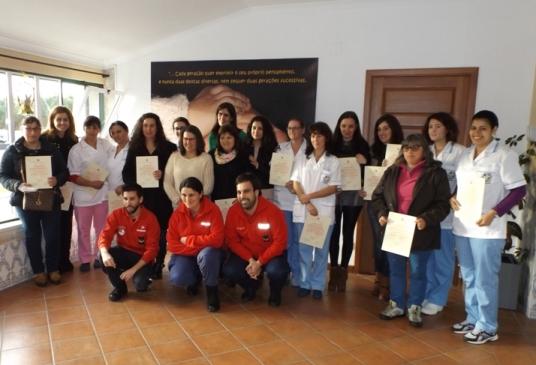 Formandas da Provida receberam certificados do Curso de Socorrismo