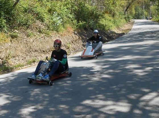 Velocidade e diversão marcaram Grande Prémio Ecológico de Carrinhos de Rolamentos