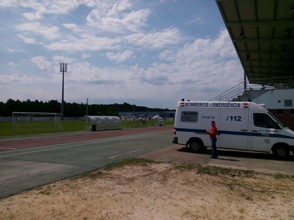 Torneio Juvenil de Futebol da Tocha teve o apoio dos Bombeiros de Cantanhede